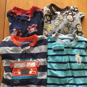 Other - Boys Feetie PJ Lot, two sizes to grow into